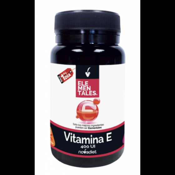 VITAMINA E 60 CAPS ELEMENTALES
