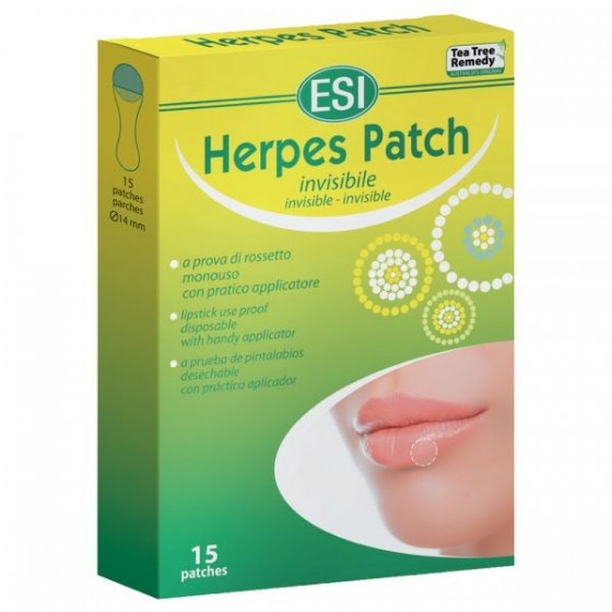 HERPES PATCH 15 PARCHES...