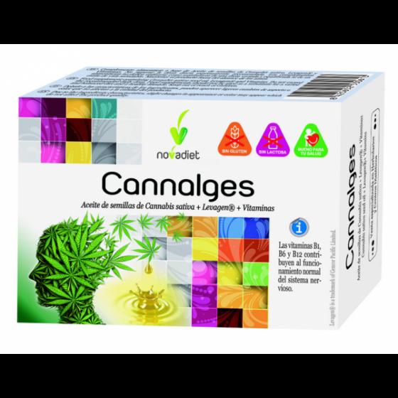 CANNALGES 30 CAPS NOVA DIET
