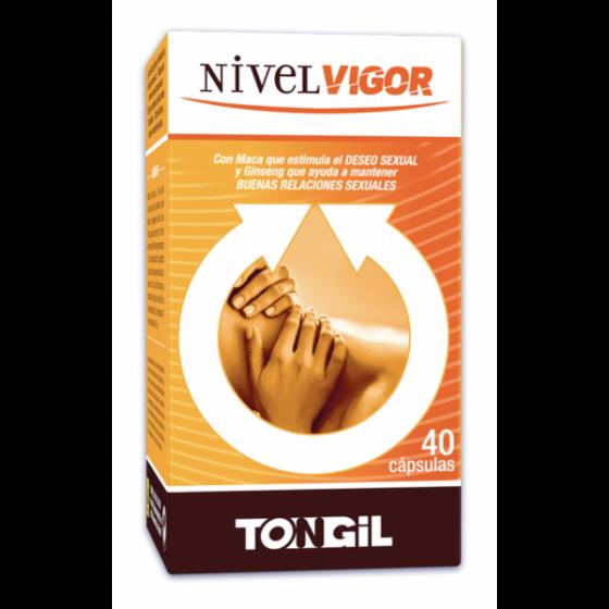 NIVELVIGOR 40 CAPS TONGIL