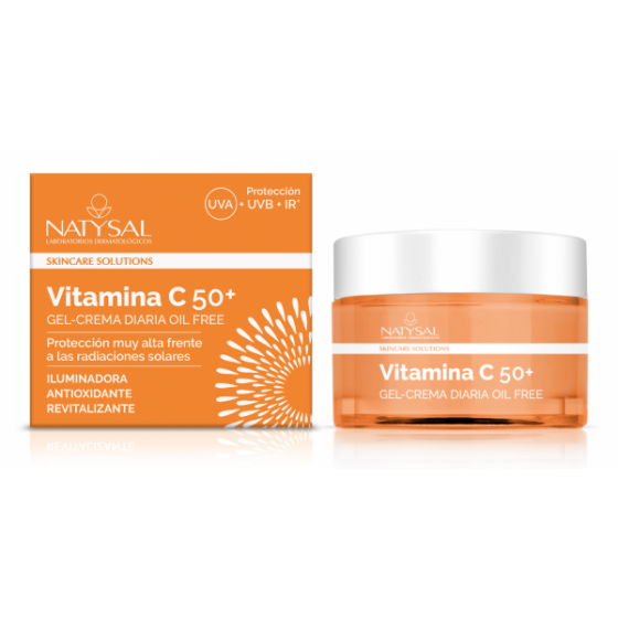 CREMA VITAMINA C  50 + NATYSAL