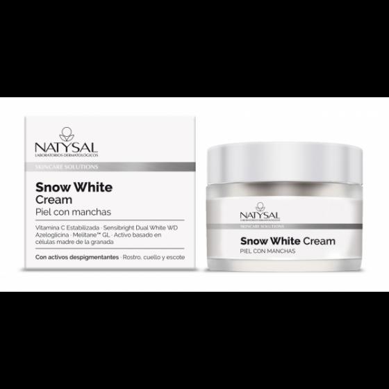 CREMA SNOW WHITE 50ML NATYSAL