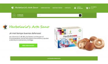 Nueva web Herbolarios Artesano